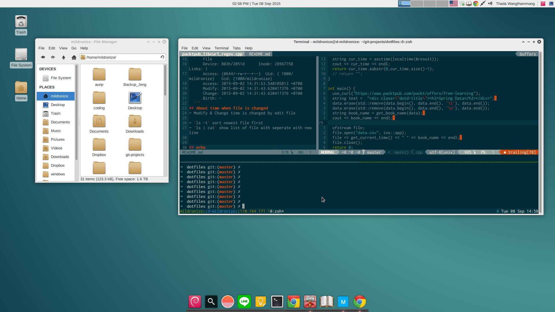 mildy-my-debian-customizing-screenshot